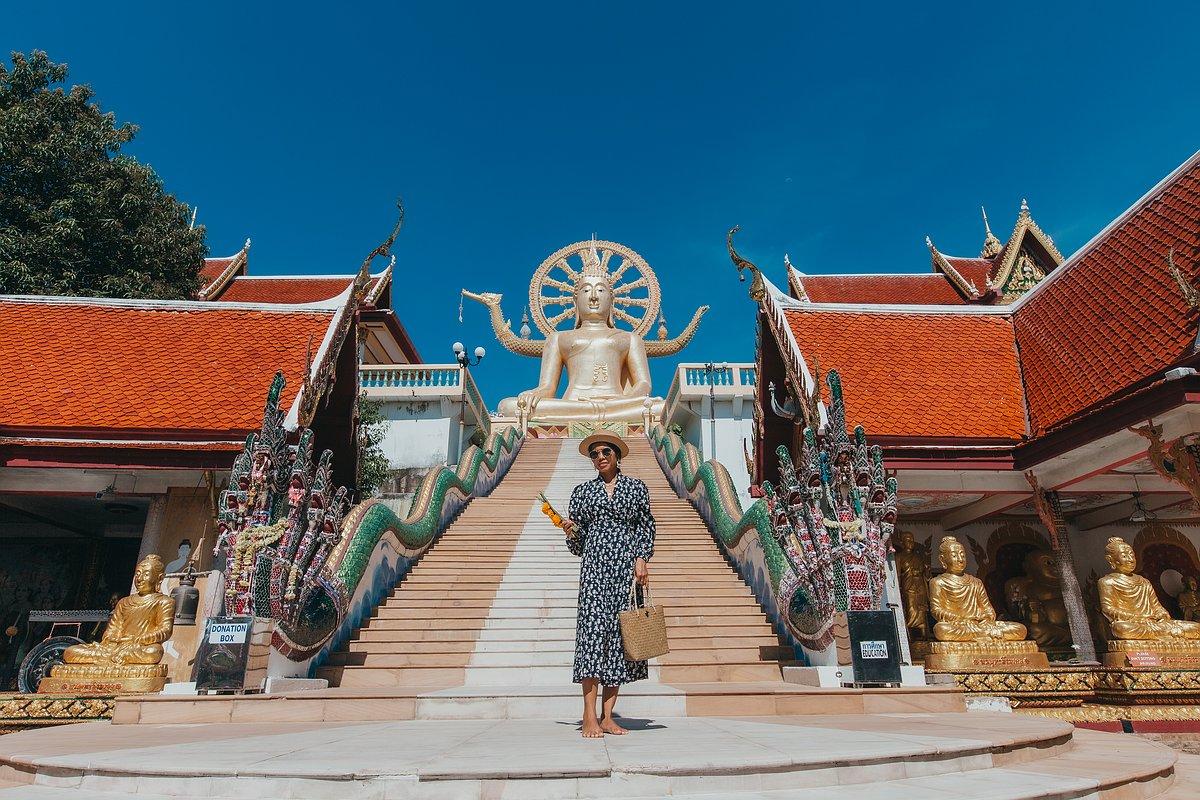 Der Treppenaufgang zum Big Buddha auf Koh Samui