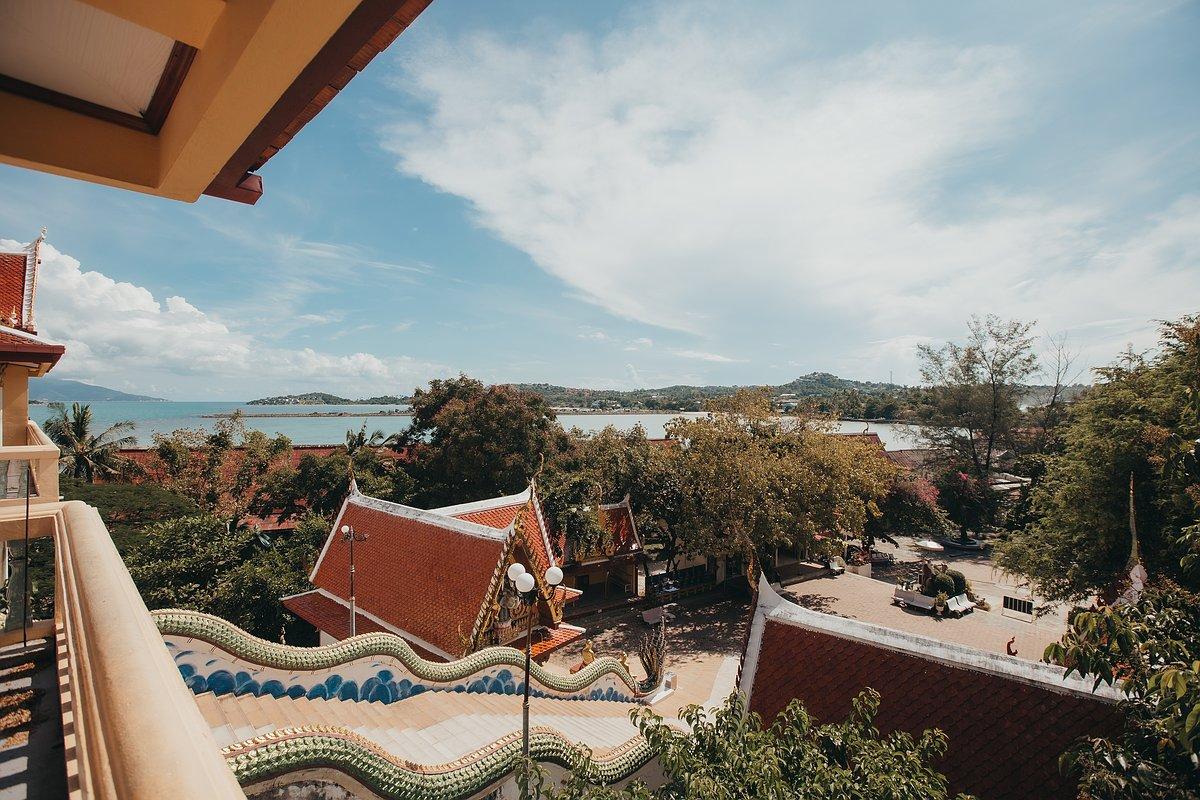 Ausblick von der Plattform des Big Buddha Koh Samui