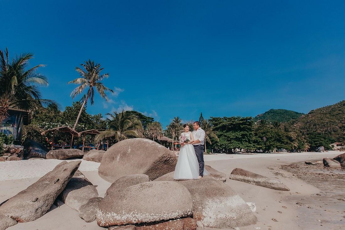 Ein Photo Shooting am Silver Beach Koh Samui