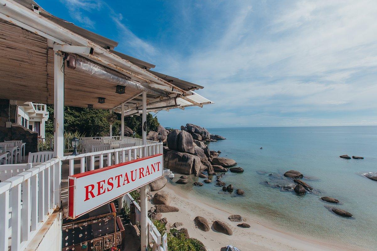 Silver Beach Koh Samui Aussenansicht des Strandes vom Restaurant