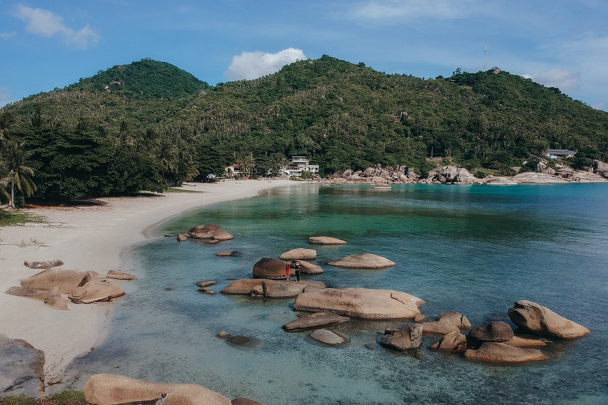 Silver Beach Koh Samui - Überblick über den Strand