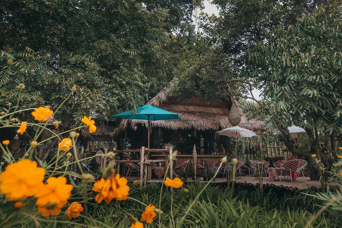 Blick auf die Bar des The Nature Samui