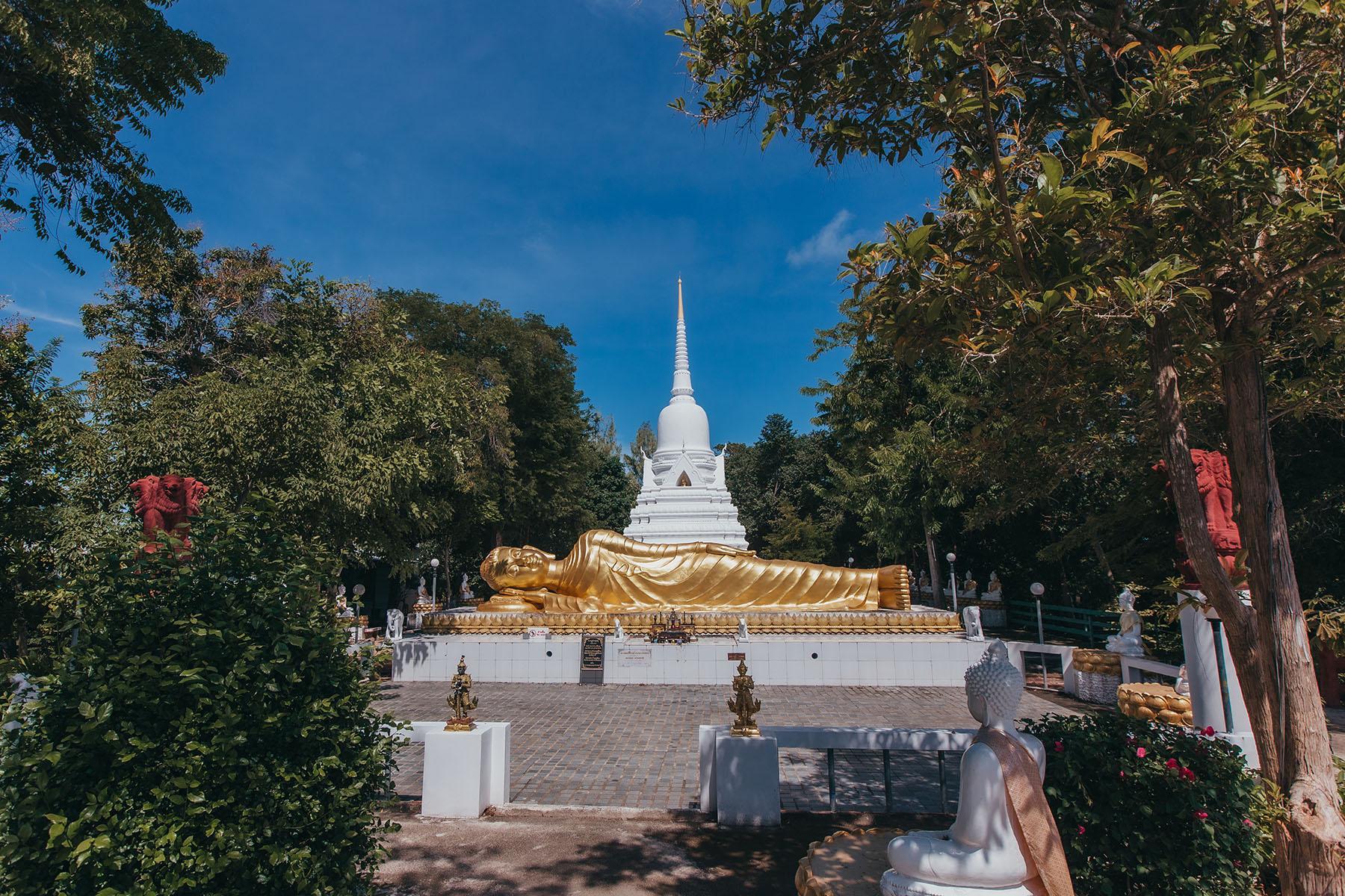 Wat Khao Chedi Tempel Koh Samui