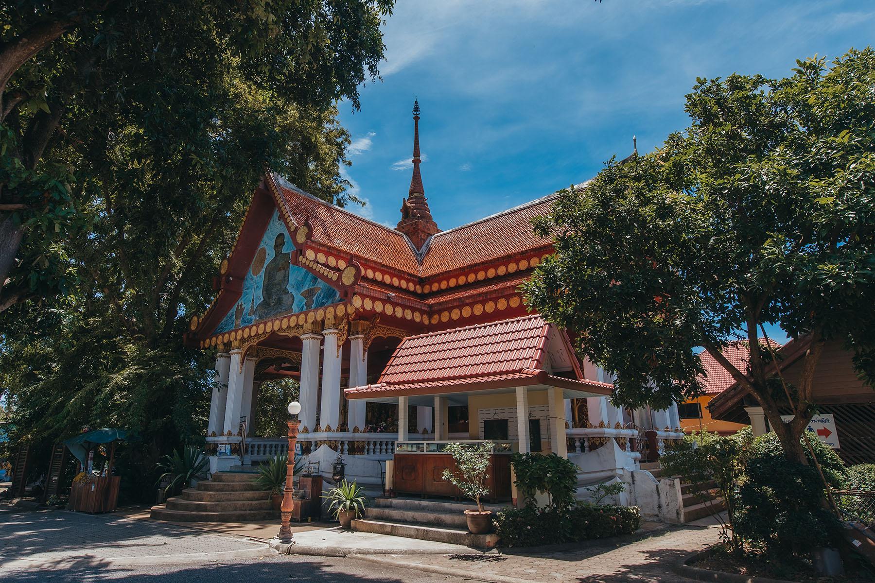 Wat Kunaram Koh samui Tempel