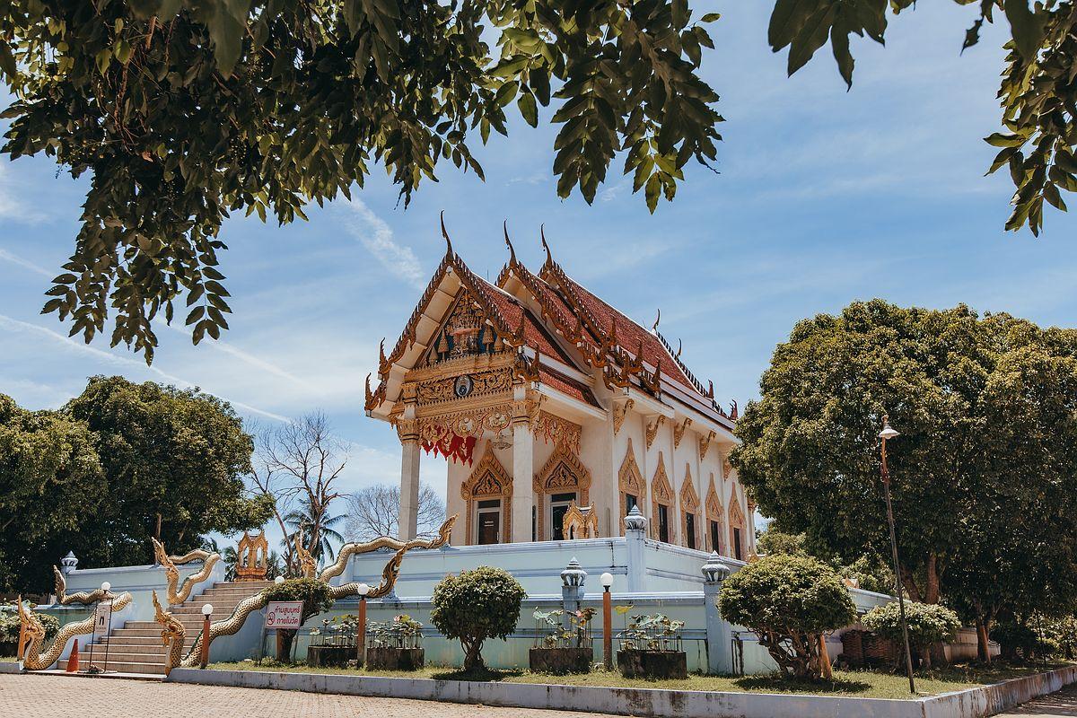 Ansicht Tempel Wat Kunaram Koh Samui