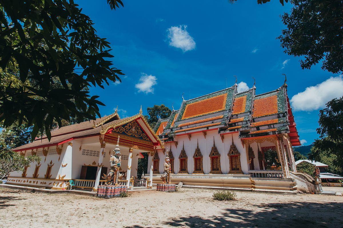 Ansicht des Tempel Wat Samret Koh Samui