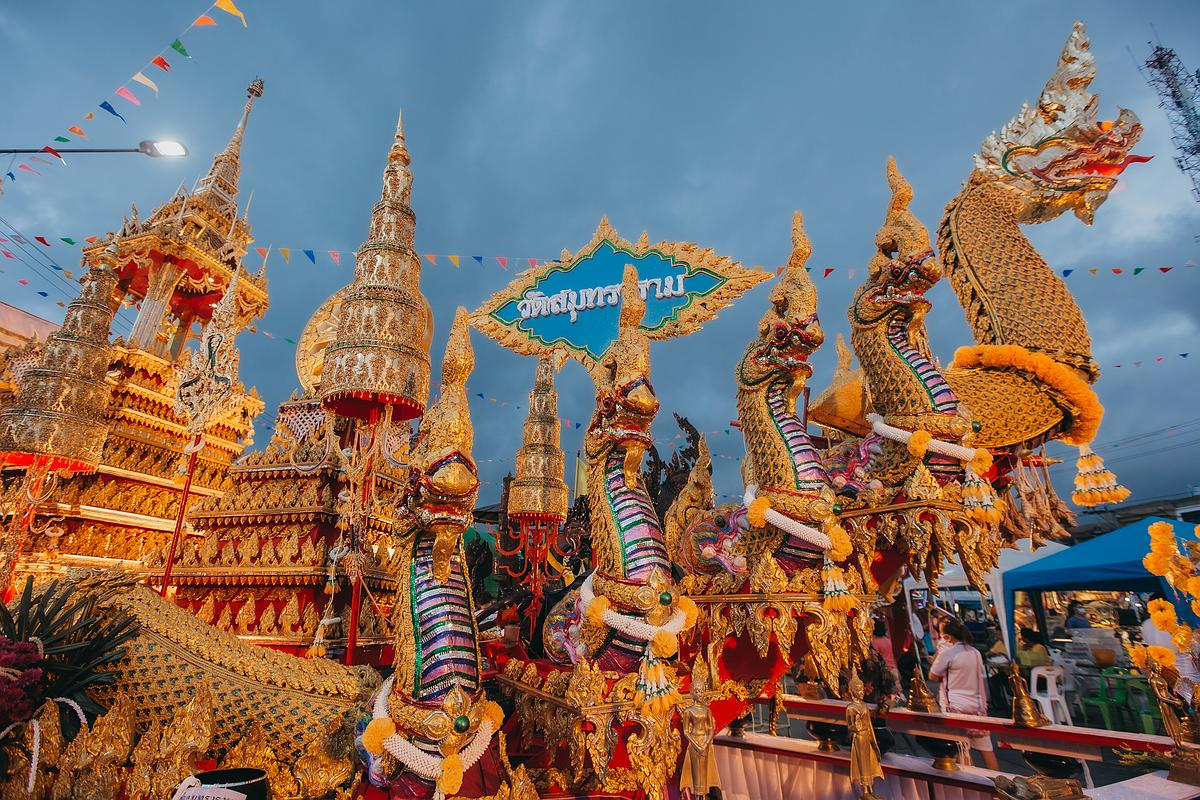 Chak Phra Festival Nathon - Koh Samui 2020
