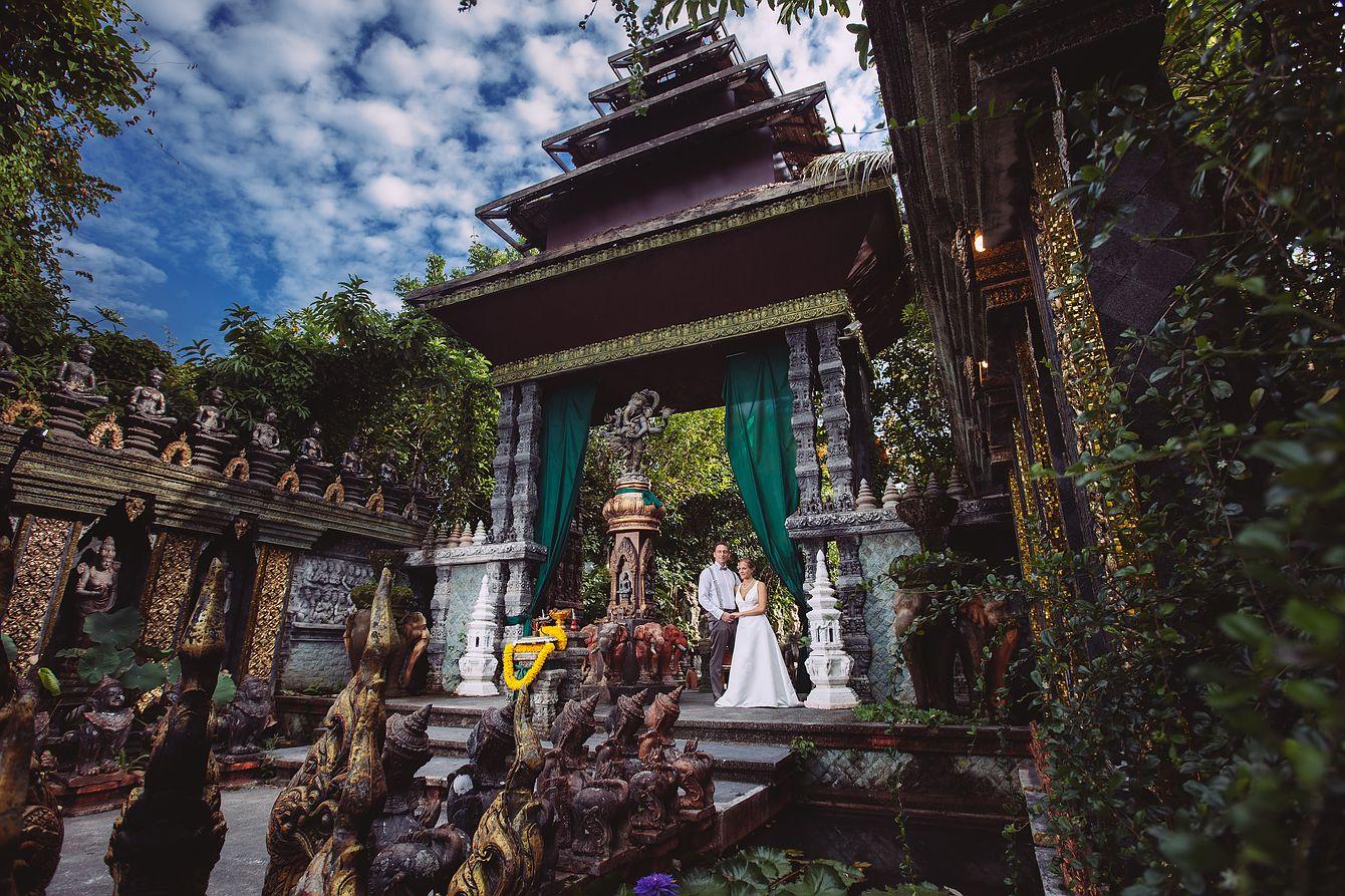 Fotoshooting am Dusit Dhewa auf KOh Samui