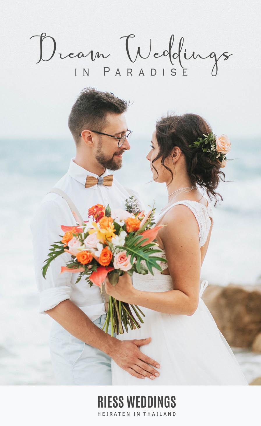 Heiraten in Thailand Banner