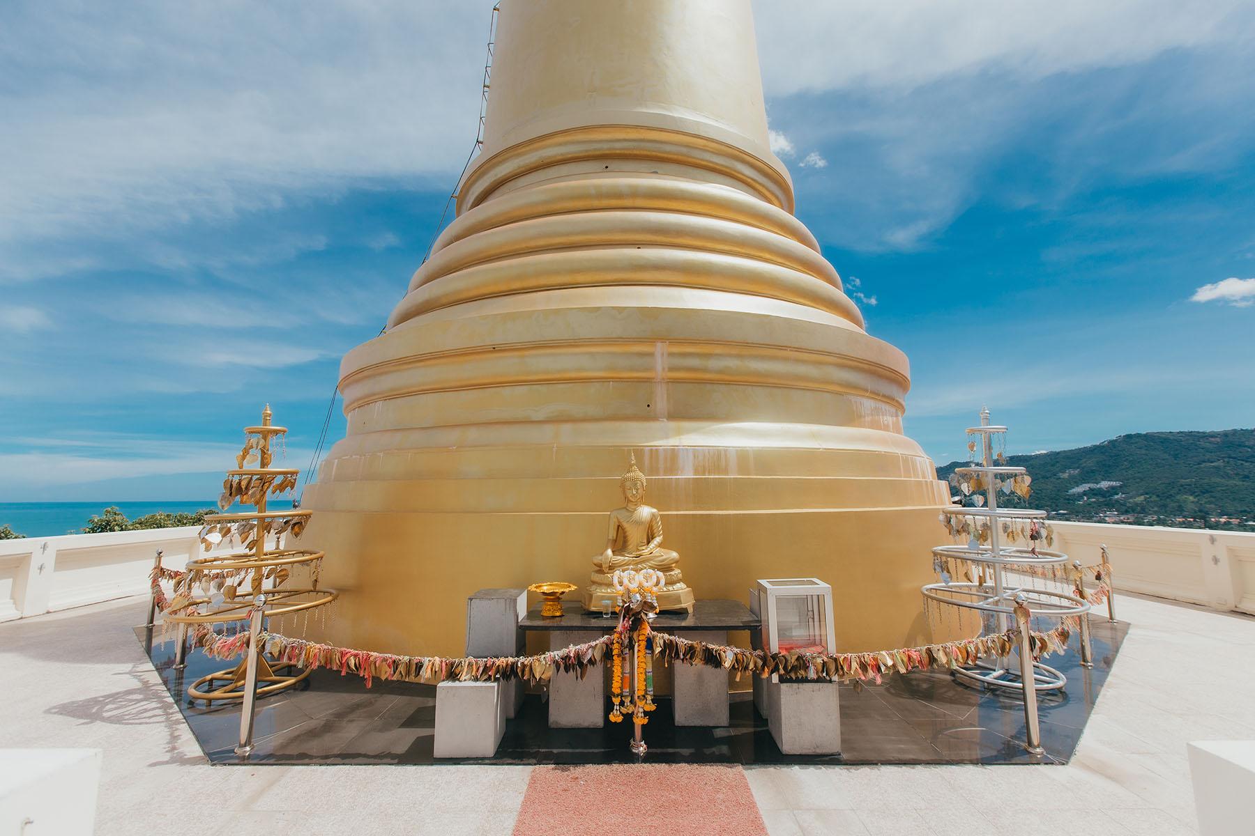 Wat Khao Hua Jook Chedi Koh Samui