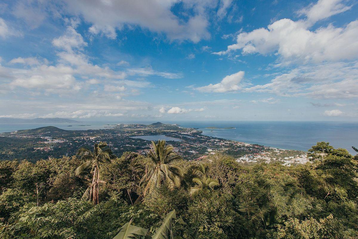 The Roof Samui - Fantastischer Ausblick vom Aussichtspunkt des Restaurants - Viewpoint