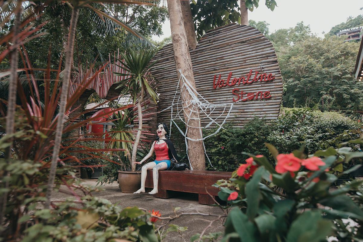 Der Lamai Viewpoint und Valentine Stone Koh Samui - Eingangsbereich