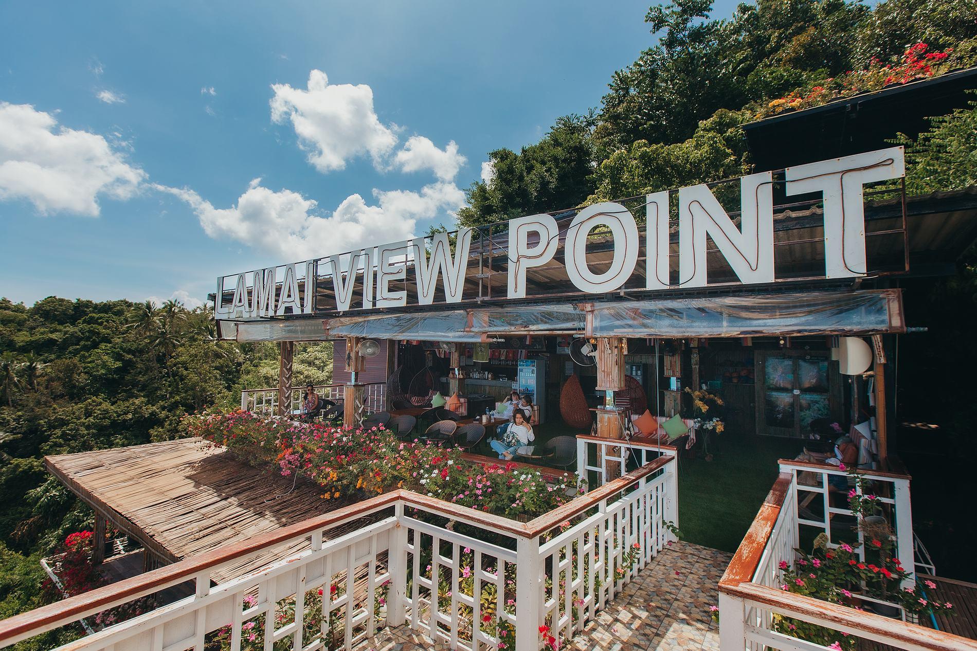 Der Lamai Viewpoint und Valentine Stone auf Koh Samui